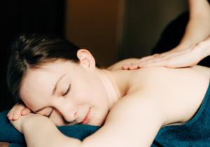 two day healthy spa break lady enjoying relaxing back massage