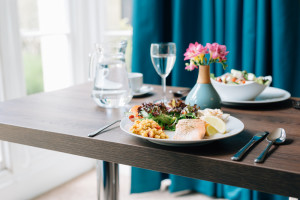 healthy fresh food on a table