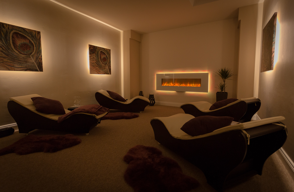 relaxation room for spa days and spa breaks
