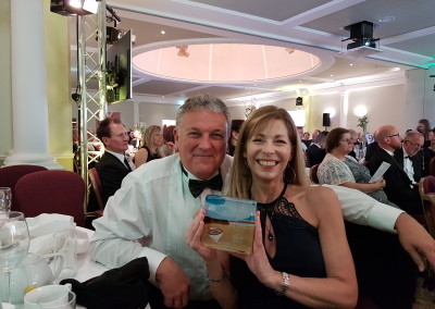 silver award at spa awards