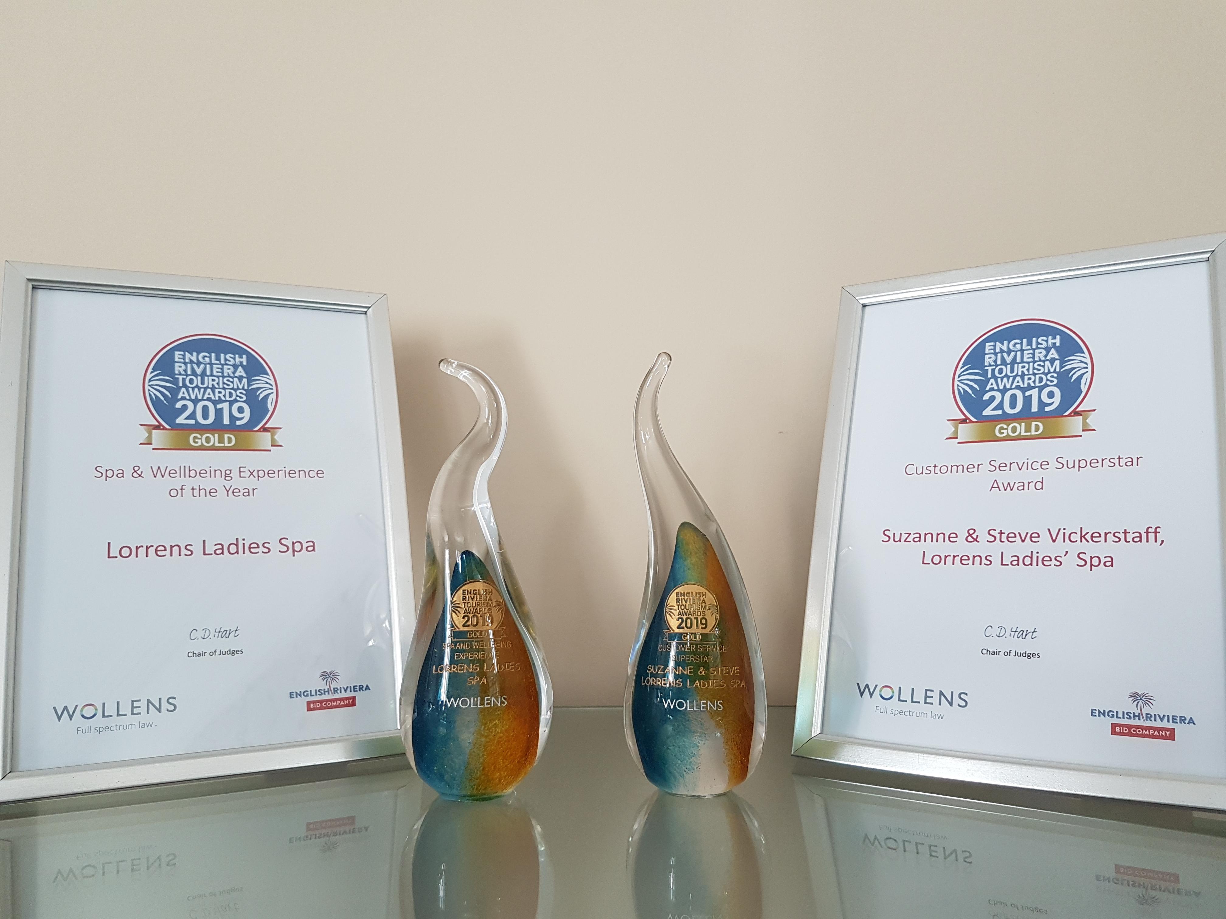 south devon tourism gold awards