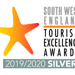 South West Tourism England logo landscape SILVER