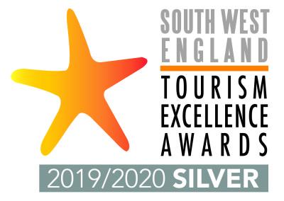 South West Tourism England logo landscape SILVER